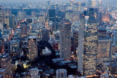 Sich an das Leben in der japanischen Millionenstadt gewöhnen