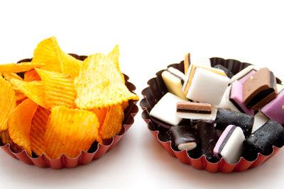 Lakritze schlägt kalorienmäßig Chips, Schokolade und Co.