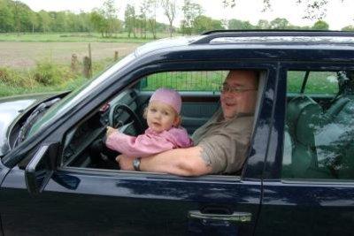 Mercedes zu fahren, macht auch den Kleinsten Spaß.
