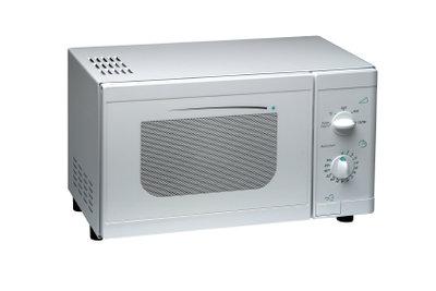 Mikrowellen erzeugen in Metallen elektrische Ströme.