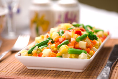 Gesunde Ernährung ist für die Gewichtsabnahme wichtig.