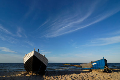 Das Fischerboot wartet schon auf Sie.