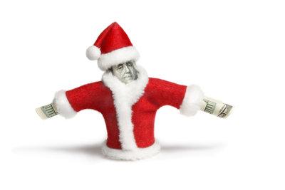 Weihnachtsgeld kann das Konto füllen.