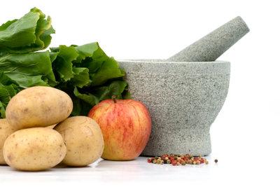 Kartoffeln und Äpfel lassen sich gut kombinieren.