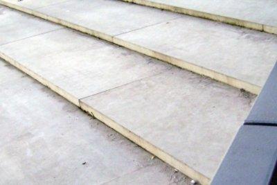 Gießen Sie ein paar Treppenstufen für Ihren Garten.