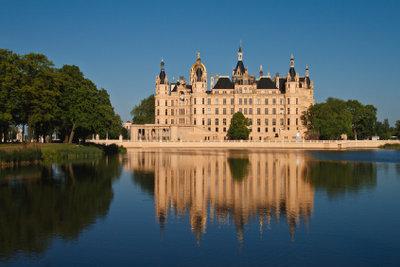 Im Schloss von Schwerin kann auch prima Silvester gefeiert werden.