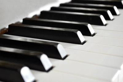 Mit dem Klavier lassen sich Tonleitern besonders einfach verstehen.