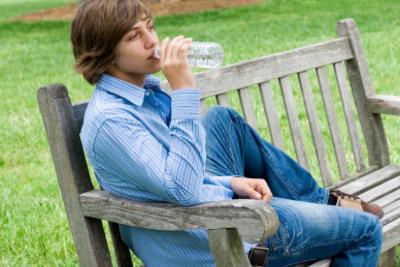 Wasser ist in jedem Alter gesund.