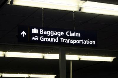 Gepäckverlust unbedingt am Flughafen melden.