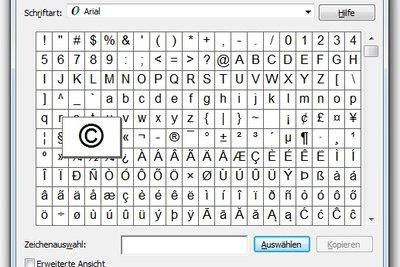 Copyright-Zeichen: So geben Sie das Sonderzeichen unter Windows und Mac OS ein.