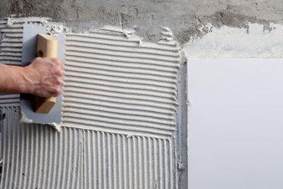 Weißer Zement ist sehr beliebt.