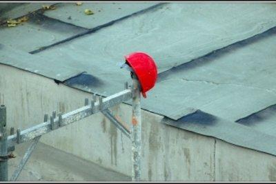 Helm eines Vorarbeiters