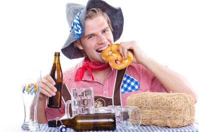 Es gibt viele bayerische Sprüche.