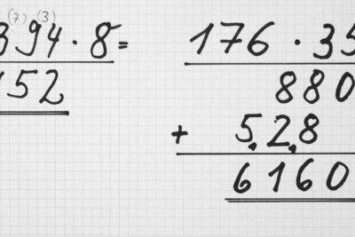 So funktioniert das schriftliche Multiplizieren.