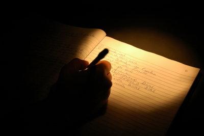 Schreiben Sie doch mal wieder.