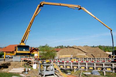 Zement spielt auf dem Bau eine wichtige Rolle.