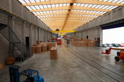 In der Logistik finden sich häufig viele Optimierungsmöglichkeiten.