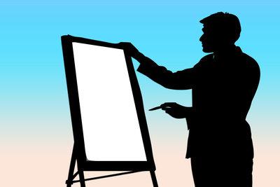 Bei einer PowerPoint-Präsentation ist weniger mehr.