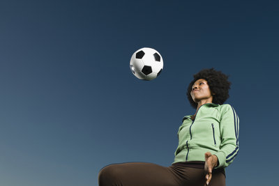 Ballspiele eignen sich als Reaktionstest.