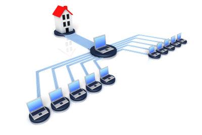 Der VDSL-Router ermöglicht ein sicheres Netzwerk.