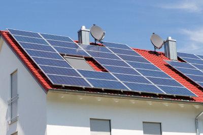 Erneuerbare Energien werden gefördert.
