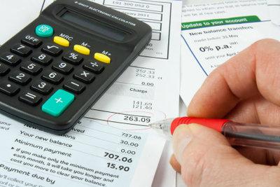 Die Abschlagsrechnung stellt vorab Kosten in Rechnung.