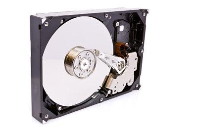 Die 360-Festplatte läuft am PC.