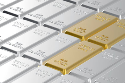 Platin und Gold als sichere Geldanlage.