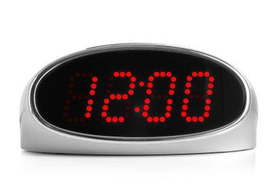Zeitschaltuhren sparen Strom.