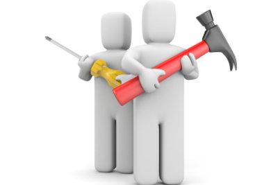 Beachten Sie beim Heimwerkern stets die Material-Herstellerangaben.