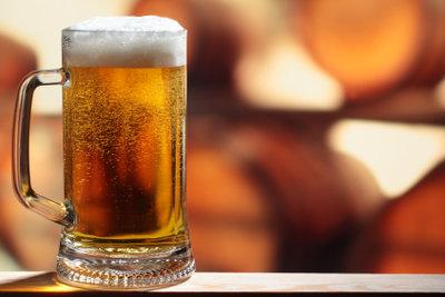 Alkoholfreies Weizenbier enthält viele Nährstoffe.