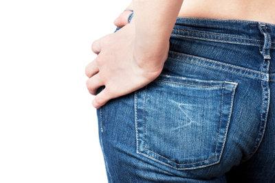Oftmals ist die Hosengröße in Inches angegeben.