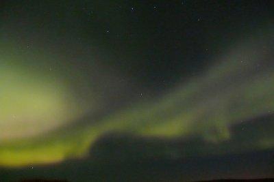 Polarlichter sind faszinierende Lichterscheinugen im Norden.