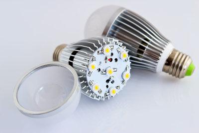 Moderne LED-Technologie ist energiesparend.