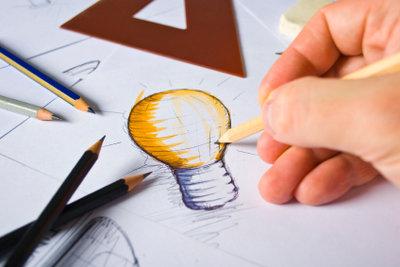 Mit etwas Talent und Ausdauer können auch Sie Grafiker werden.