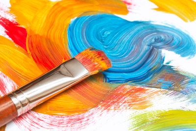 Fast jeder kann ein Künstler werden.