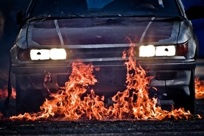 Vandalismus an Fahrzeugen kann versichert werden.