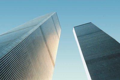 2001 wurde das World Trade Center zerstört.