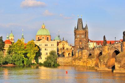 In der Altstadt von Prag können auch tolle Partys gefeiert werden.