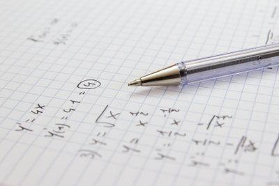 Mathematik ist ein großer Bestandteil der Physik.
