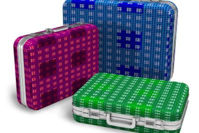 Nur gute Hartschalenkoffer schützen Ihr Gepäck angemessen.