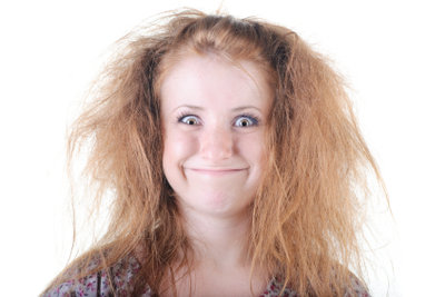 Nur gesundes Haar sollte getönt werden.