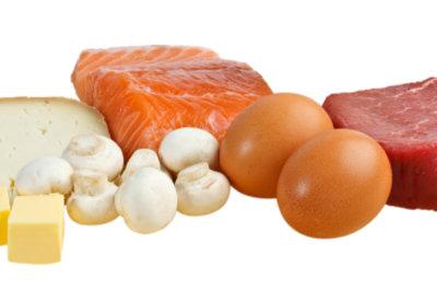 Proteine unterstützen die Diät.