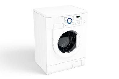 Eine Waschmaschine ist nicht unbedingt eine Zierde.