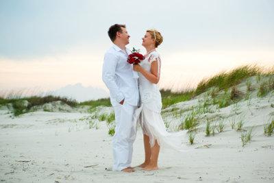Eine Hochzeit unter freiem Himmel ist in Deutschland nicht gestattet.