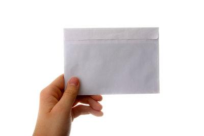 Mit dem Einwurfeinschreiben sind Briefe versichert.