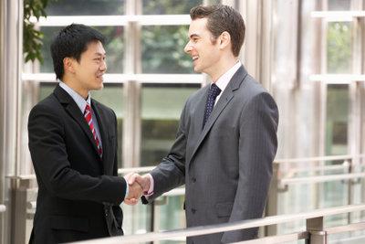 Vertriebsmitarbeiter werden oft erfolgsabhängig honoriert.