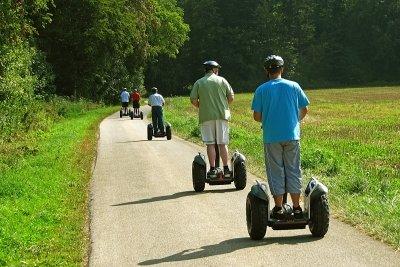 Bis 6 km/h sind auch eRoller nur Fußgänger
