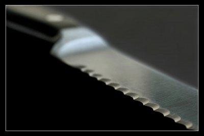 Ein Brotmesser richtig schleifen