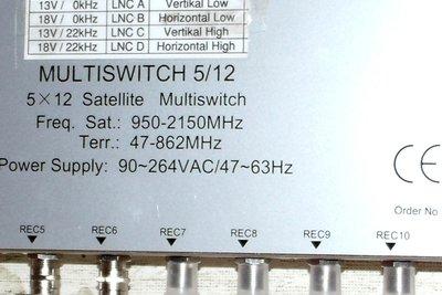 Der Multischalter verteilt Satellitensignale vom LNB.
